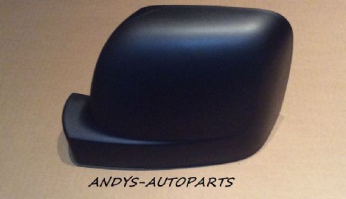 RENAULT TRAFFIC 2014 ONWARD WING MIRROR COVER L/H OR R/H BLACK GRAINED